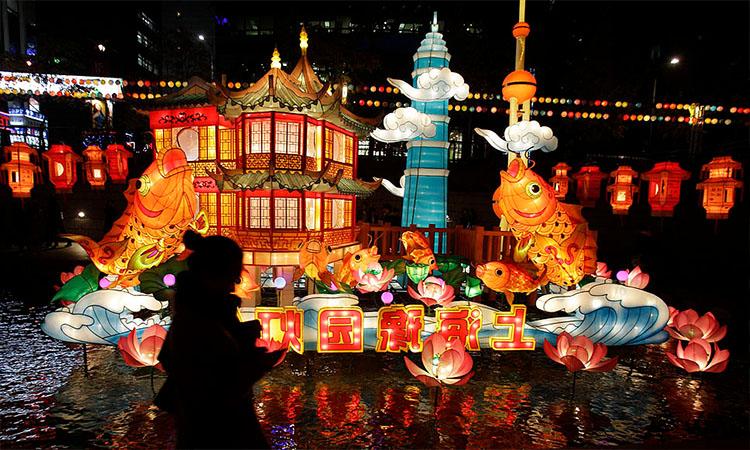 Lễ hội tại Hàn Quốc đầy màu sắc