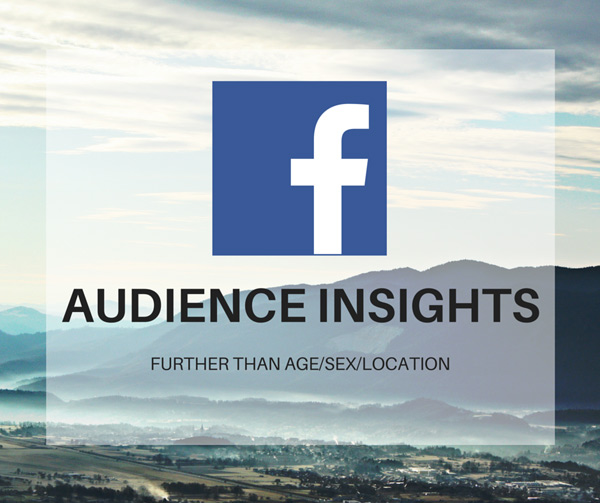 Quảng cáo Facebook Ads nâng cao Audience Insight