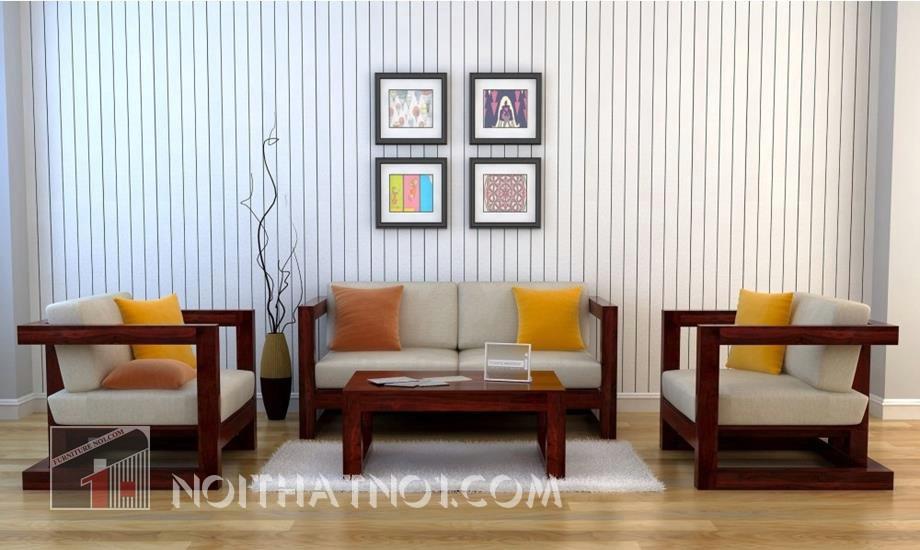 Bộ bàn ghế gỗ hài hòa