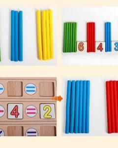 Các chi tiết của sản phẩm có màu sắc bắt mắt nên sẽ thu hút được sự chú ý của trẻ