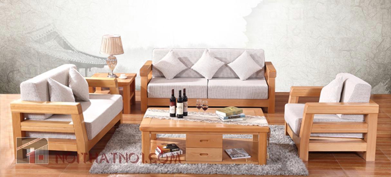 Chọn sofa gỗ đẹp hiện đại