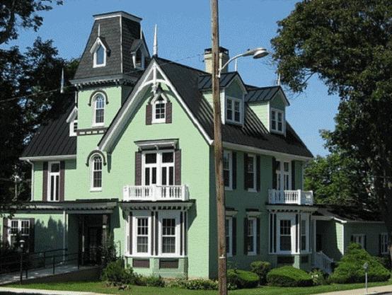 Gợi ý sử dụng sắc xanh trong phối màu sơn nhà