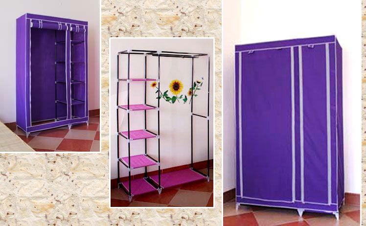 Tủ vải quần áo bằng khung thép sơn tĩnh điện tiện dụng