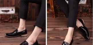 Lựa chọn giày nam phù hợp với vóc dáng
