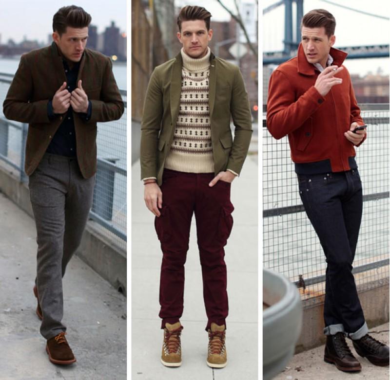 Những người có thân hình cao gầy nên chọn những đôi giày mũi tròn, vuông, góc cạnh