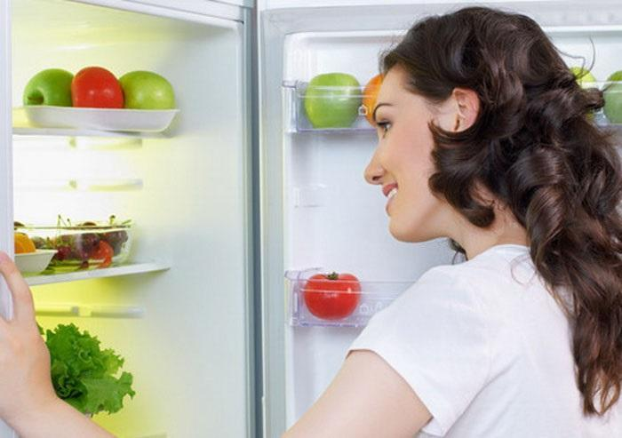Hãy luôn giữ tủ lạnh được sạch sẽ và thông thoáng