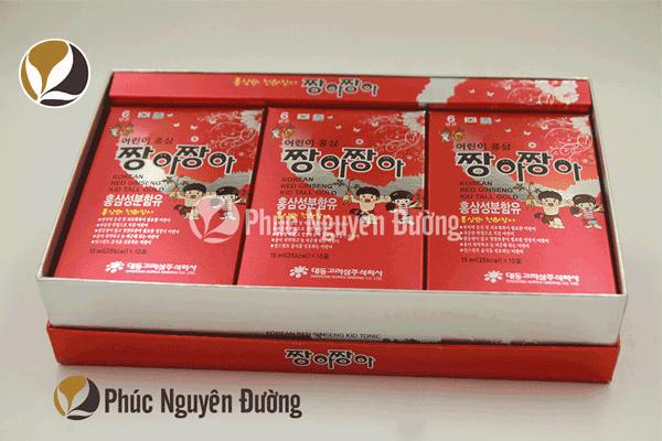 Thành phần và xuất xứ của sản phẩm Hồng sâm Baby DAEDONG