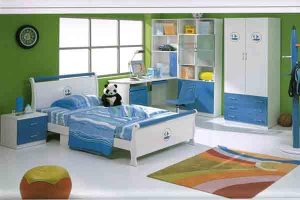 Thiết kế phòng ngủ cho trẻ con