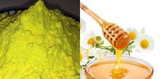 Công dụng của tinh bột nghệ và mật ong đối với sức khỏe