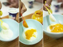 Dưỡng da với tinh bột nghệ - sữa tươi