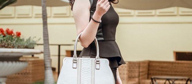 Lựa chọn túi xách cần phù hợp với dáng người và mục đích sử dụng