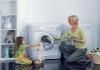 Một vài bí quyết vắt khô quần áo bằng máy giặt an toàn?
