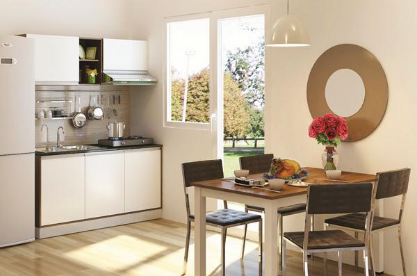 Thiết kế cửa xổ cho bếp nhỏ đẹp