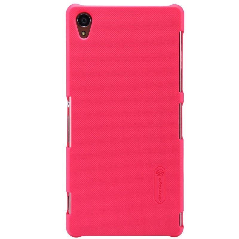 Ốp lưng Sony Z3 hiệu Nillkin màu hồng