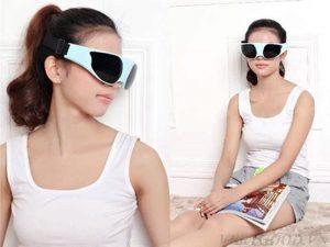 Kính massage mắt TS 0816 là sản phẩm hỗ trợ chăm sóc cho đôi mắt