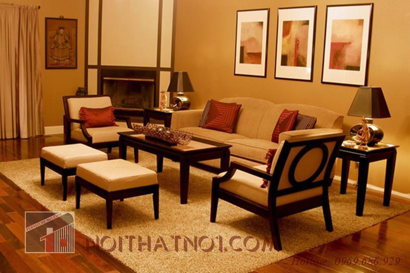 bàn ghế gỗ gụ sang trọng