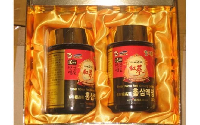 Cao hồng sâm Hàn Quốc được chế biến rất công phu