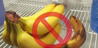 Vì sao chuối để trong tủ lạnh gây ung thư?