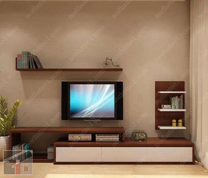 Kệ tivi đơn giản cho phòng nhỏ