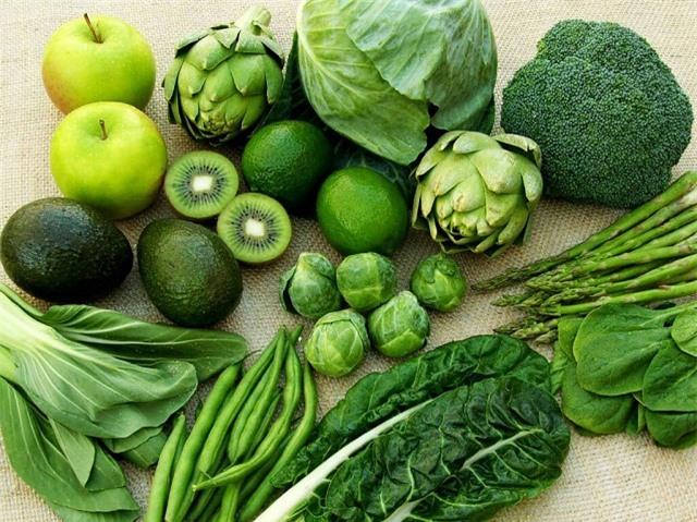 Duy trì một chế độ ăn đầy đủ dinh dưỡng, nhiều rau xanh