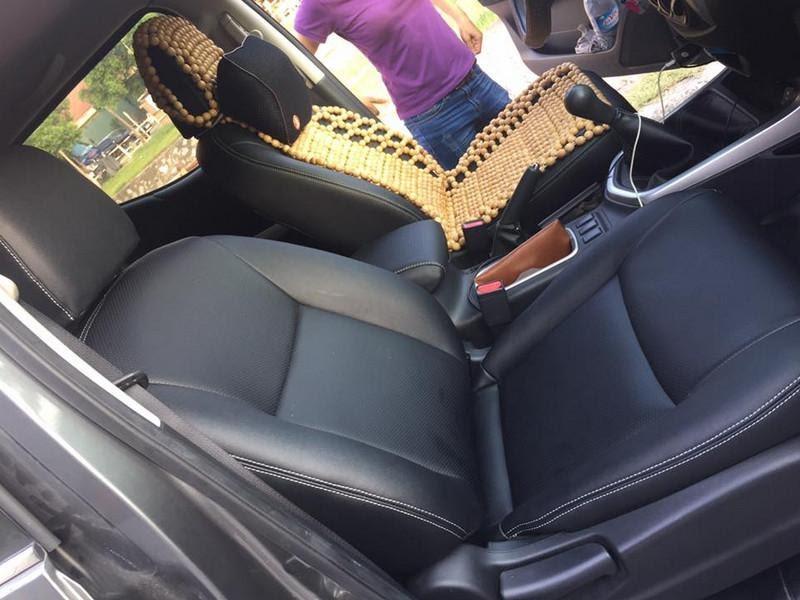 Sử dụng da thật để bọc ghế xe Nissan Navara tạo sự đẳng cấp