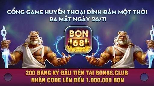Giới thiệu về cổng game huyền thoại Bon68 Club