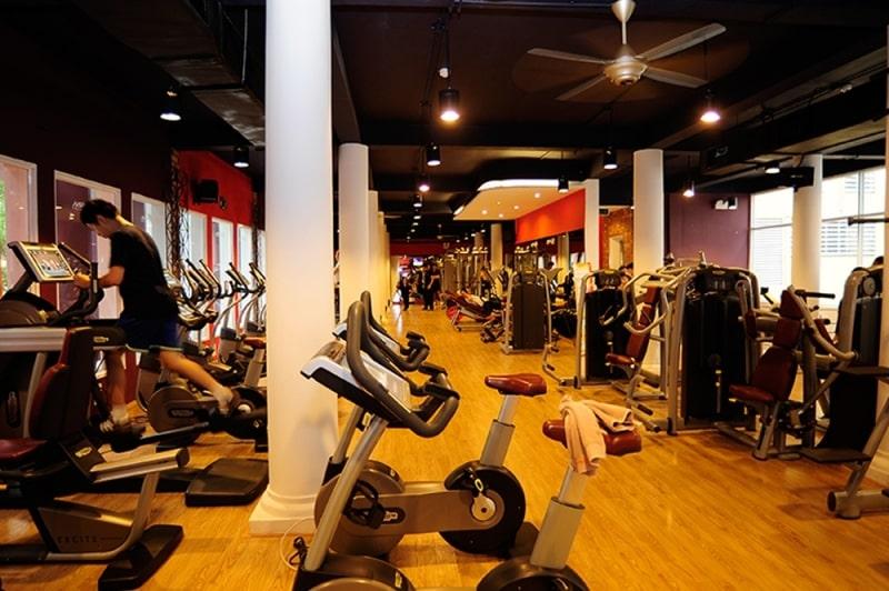 California Fitness là một trong những phòng tập gym nổi tiếng tại Hà Nội
