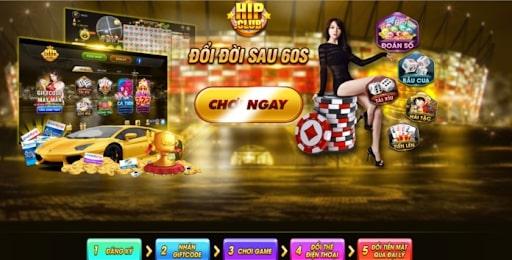 Hip club - cổng game đổi thưỏng chất lượng cao