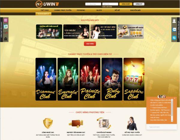 UWin71 - uy tín và đa dạng