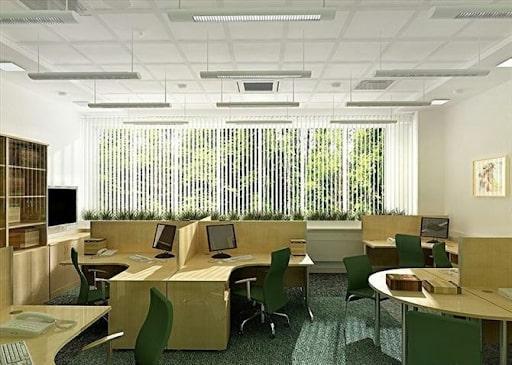 Chỗ ngồi làm việc nên được chia theo nhóm để cải tiến năng suất